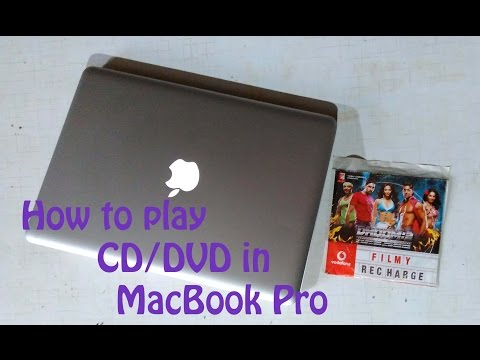 How to play CD/DVD in MacBook Pro