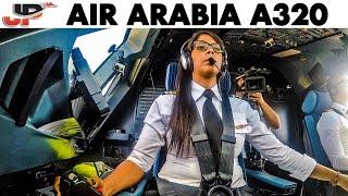 Sabrina makes perfect Airbus landing!