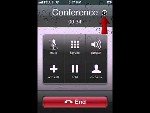 Conference Call On iPhone (3-way Call)