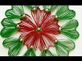 Beautiful DIY Paper Quilling Flower Wall Hanging   Home Decor Craft   StylEnrich