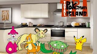 Total Pokemon Island episode 10 Slash throat Kitchen part 2