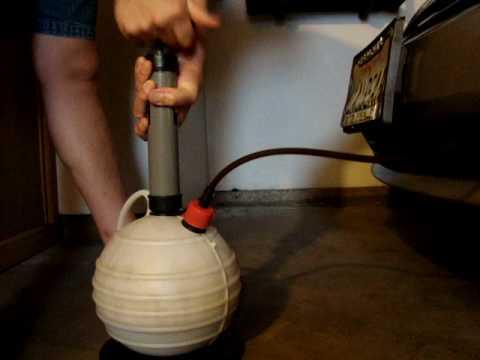 Pela Pump oil change