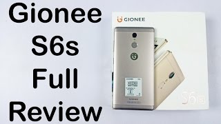 Gionee S6s Review Unboxing & Full Hands on - Nothing Wired