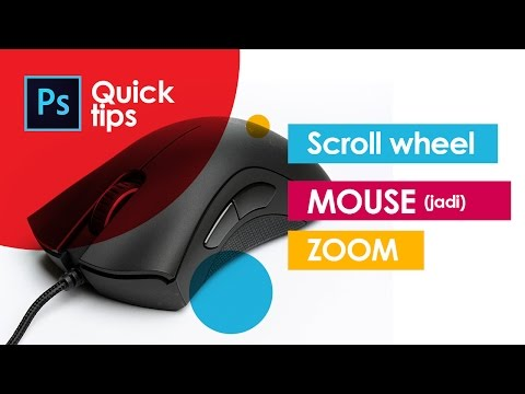 CARA MENGUBAH SCROL WHELL MOUSE MENJADI ZOOM PHOTOSHOP - Photoshop Tutorial Indonesia