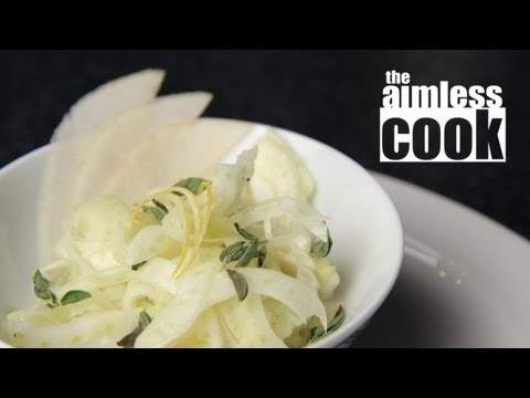 Pear and Fennel Salad Recipe