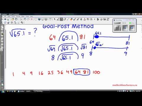 Estimating Square Roots of Decimals
