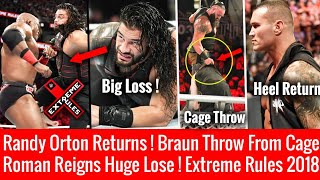 Roman Loss Extreme Rules ! Orton Heel Returns ! WWE Extreme Rules 2018 Highlights HD 15 July 2018