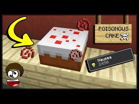 ✔Minecraft Pe: How To Make A Poisonous/Rotten Cake | No Mod-No Addon