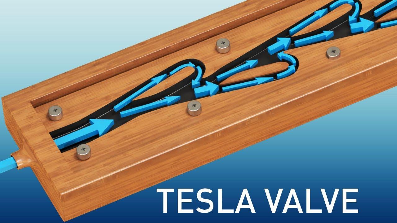Tesla Valve | The complete physics