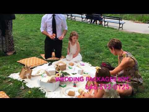 Picnic Wedding in Central Park, NY