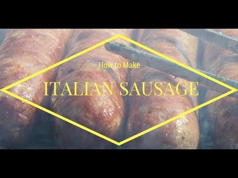 How to Make Delicious Italian Sausage with Hand Grinder, Dakotah Water Stuffer