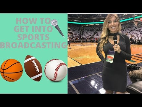 How to Get into Sports Broadcasting (5 Tips!)