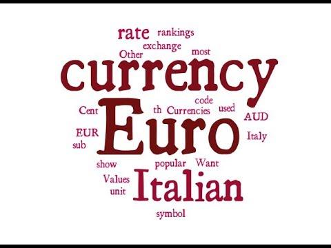 Italian Currency - Euro