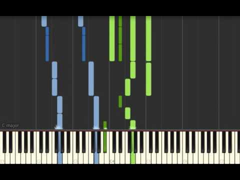 Frozen Do You Want To Build A Snowman Tutorial (kyle version, synthesia)