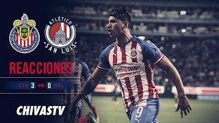'Chofis' y Pulido hablaron tras su gol | Reacciones | Postpartido | Chivas 3-0 Atlético San Luis
