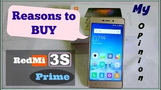 Why should you buy REDMI 3S Prime in Hindi