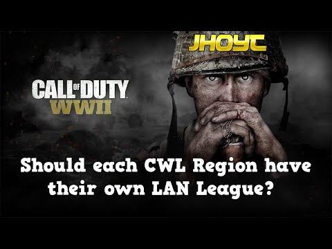 Should each CWL Region have their own LAN League? | COD WWII Gameplay