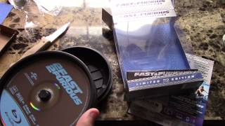 Fast and Furious blu ray collection limited edition unboxing