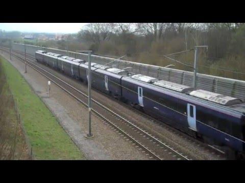 High Speed 1 - Class 395 - Ashford to London St Pancras