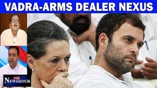 Why Is Congress Silent On Robert Vadra-Arms Dealer Nexus? | The Newshour Debate (17th October)