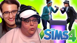 OUR FIRST DATE l The Sims 4 (w/ Drew Monson) PART 2