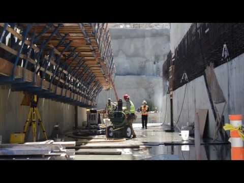 U.S. Army Corps of Engineers - Tour of New Folsom Dam Construction