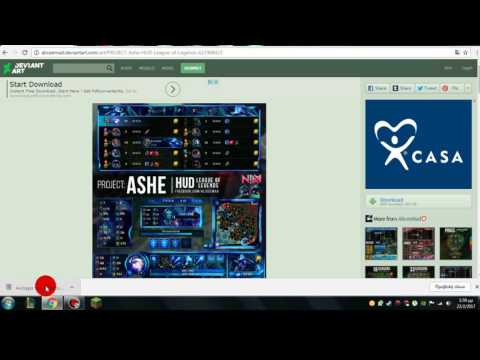 How to change HUD in League Of Legends !!