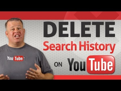 How To Delete Your YouTube Search History