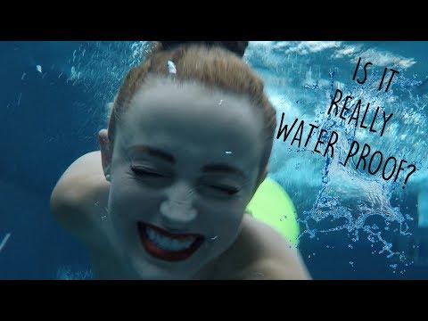 TESTING WATER PROOF MAKEUP