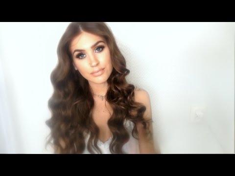 ♡ Heatless Hollywood inspired curls / waves| no heat hair tutorial ♡