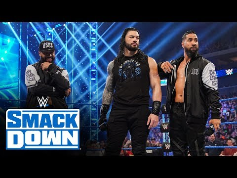 Xxx Mp4 Roman Reigns Lays Down Challenge With The Usos By His Side SmackDown Jan 10 2020 3gp Sex