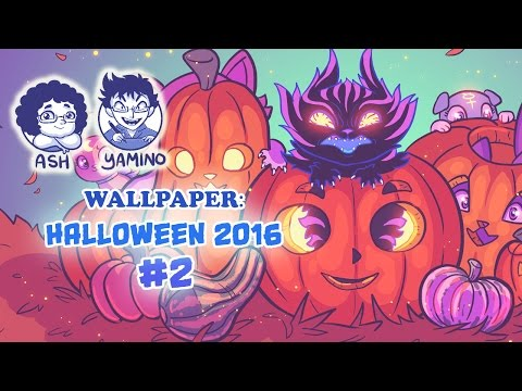 Wallpaper: Sketch and Ink Halloween 2016 #2