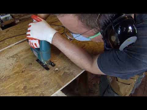Zinc Counter Top Job With Undermount Sinks - PART 2 - Making Templates