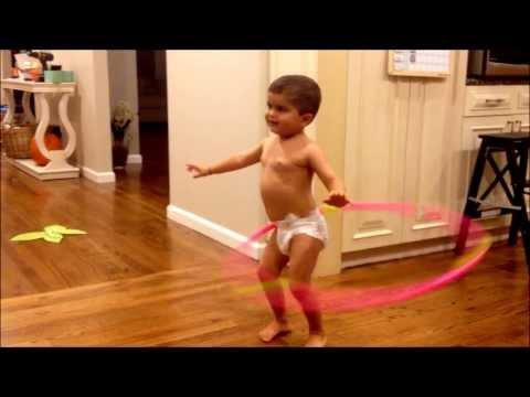 Best Hula Hoop Baby Hula Hooping
