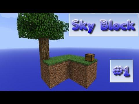 Minecraft: Sky Block - #1- Cobblestone Generator