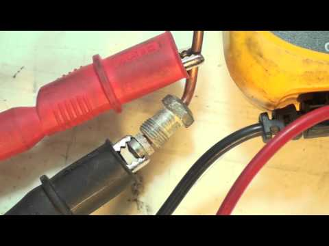 Gas furnace will not light.  Thermocouple test with the multimeter