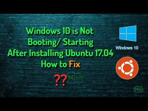 SOLVED: Windows not booting after installing Ubuntu