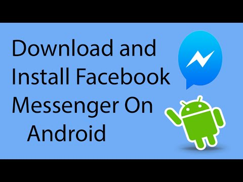 How To Download and Install Facebook Messenger on Android -2016 ?