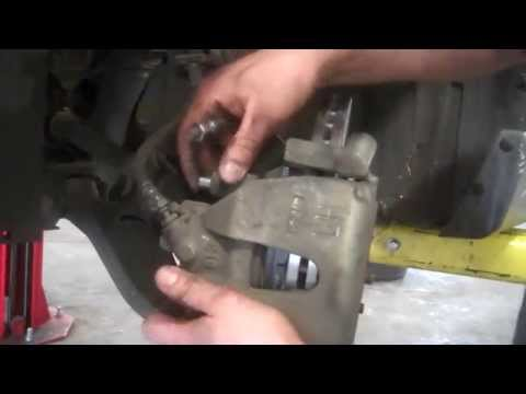 Front brake pad replacement 2004-2005 Mazda 3  2.3L  Mazda3 Install Remove Replace