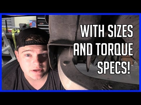 How To Replace Front Strut Spring Assembly Ford F-150 2004-2008 | There is a Trick to it!
