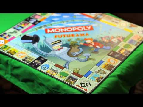 Everything Inside: Futurama Monopoly Collector's Edition
