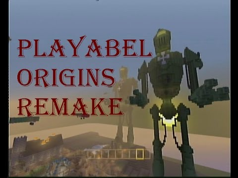 Minecraft PS3 Playabel Origins map with download link