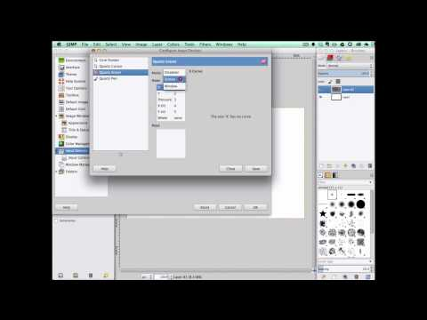 Wacom tablet pressure not working on GIMP - Mac OS X