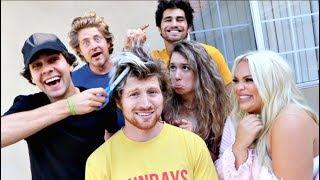 LETTING MY FRIENDS CUT MY HAIR! (Bad Idea)