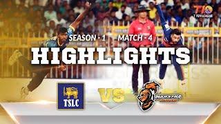 T10 League Season 1, Match 4,  Maratha Arabians Vs TSLC
