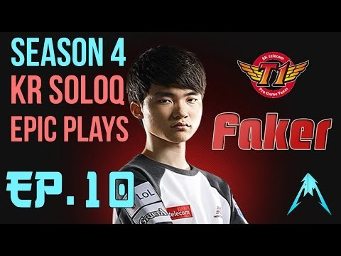 SKT T1 Faker - SoloQ Epic Plays With Zilean Ep.10