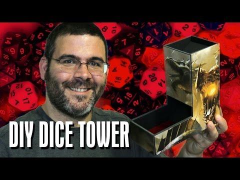DIY D&D Dice Tower