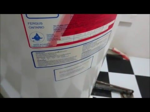 HOW TO FLUSH CLEAN AND MAINTAIN YOUR HOT WATER HEATER TANK