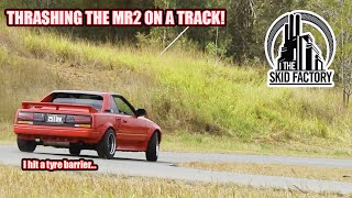 Learning the limits of the MR2 at a Track! The Poor Man's Ferrari [EP10] - THE SKID FACTORY
