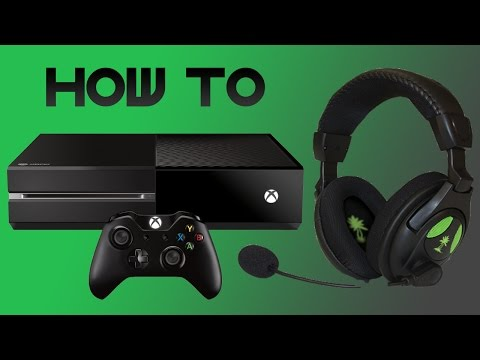 EASIEST way to set up a headset on XBOX ONE! Turtle beach X12